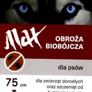 SELECTA Obroża biobójcza Max 75 cm brązowa