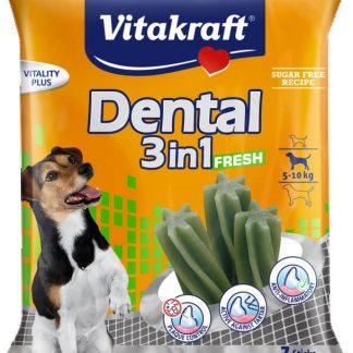VITAKRAFT DENTAL 3w1 FRESH S 120g przysmak d/psa