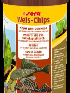 SERA Catfish Chips 100 ml - pokarm dla bocji i ryb sumokształtnych [SE-00510] 100 ml