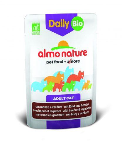 ALMO NATURE DAILY Bio z wołowiną i warzywami  70 g