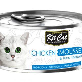 KIT CAT CHICKEN MOUSSE (mus z kurczaka) 80g