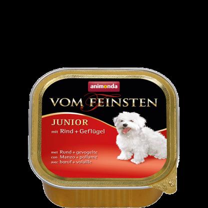 ANIMONDA Vom Feinsten Junior szalki z wołowiną i kurczakiem 150 g