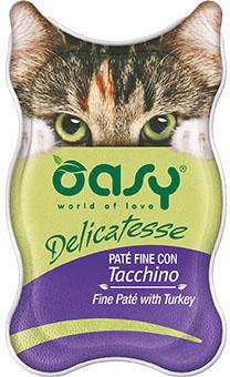 OASY DELICATESSE Paté - Indyk 85 g