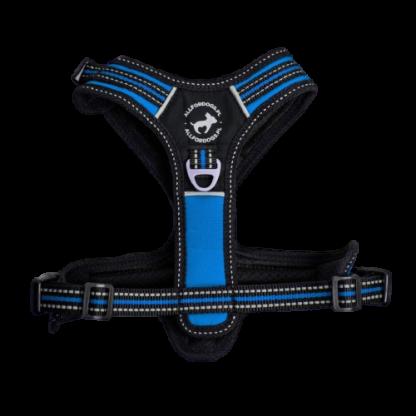ALL FOR DOGS Szelki 3x-Sport Niebieskie S