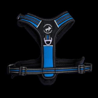 ALL FOR DOGS Szelki 3x-Sport Niebieskie L