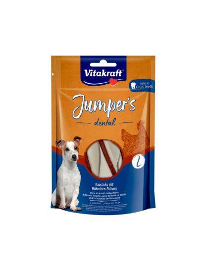 VITAKRAFT JUMPERS DENTAL TWISTED L kurczak 150g d/psa