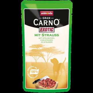 ANIMONDA GranCarno Exotic saszetki ze strusiem 125 g