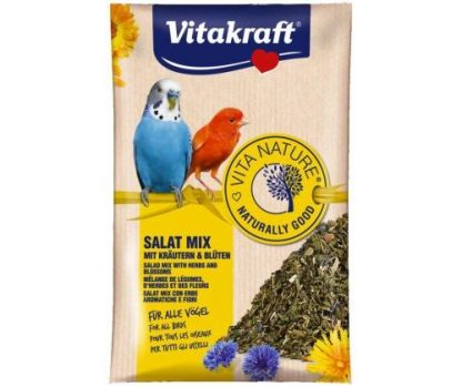 VITAKRAFT SALAT MIX 10g d/pap.falistej/kanarka