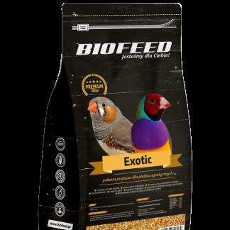 BIOFEED Premium Exotic - małe ptaki egzotyczne 1kg