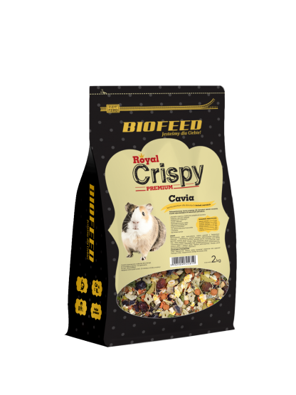 BIOFEED Royal Crispy Premium Cavia 2kg - dla świnek morskich