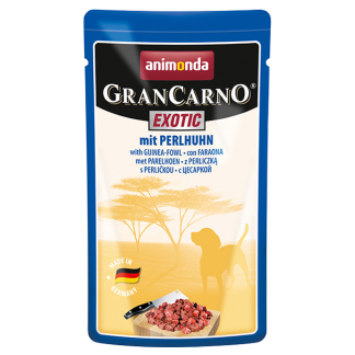 ANIMONDA GranCarno Exotic saszetki z perliczką 125 g