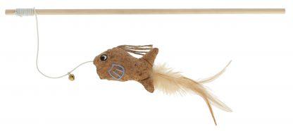 KERBL Wędka dla kota z rybką