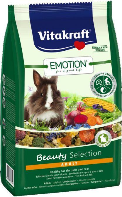 VITAKRAFT EMOTION BEAUTY 600g karma d/królika