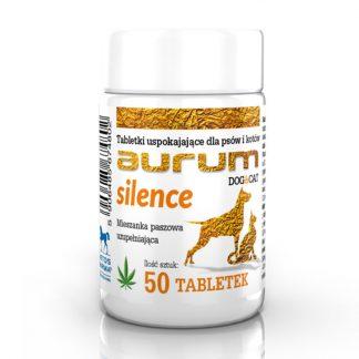 AURUM SILENCE - Tabletki uspokajające dla psów i kotów