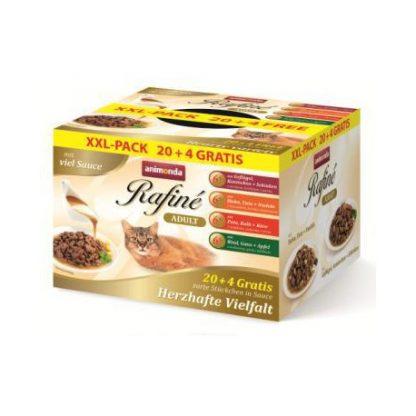ANIMONDA Rafine Soupe XXL-PACK z sosem dla kota 100g x 20 + 4 gratis