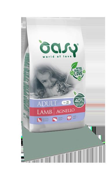 OASY DRY CAT Adult - Jagnięcina   1
