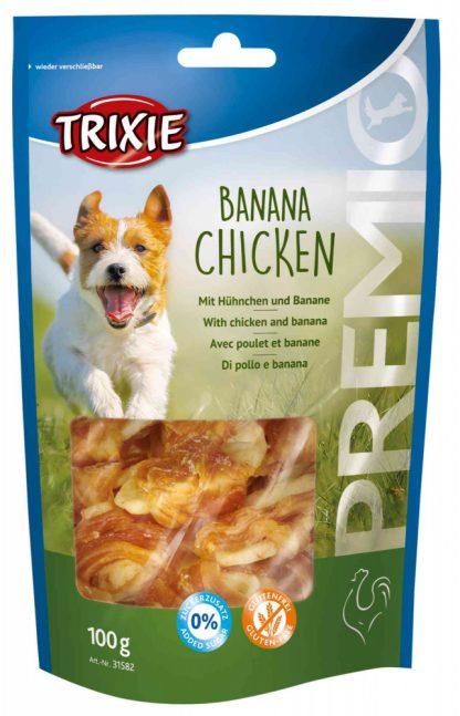 TRIXIE SNACKI Premio z kurczakiem i bananem
