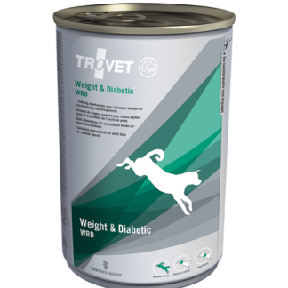 TROVET WRD Weight & Diabetic puszka 400g pies
