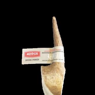 4DOGS GRYZAK M HARD z poroża daniela 12 cm