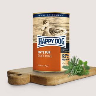 HAPPY DOG PUSZKA dla psa - KACZKA (Ente Pur) 800g