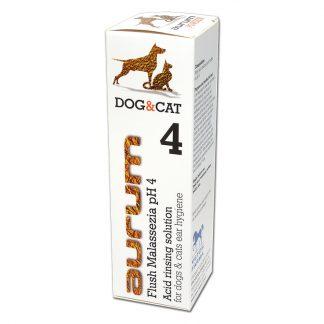 AURUM 4 - Kwaśna płukanka do higieny uszu psów i kotów 500ml.