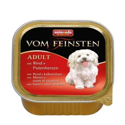 ANIMONDA Vom Feinsten Adult szalki z wołowiną i sercem indyczym 150 g