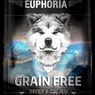 BIOFEED Euphoria Adult Dog GF TURKEY&SALMON 10kg