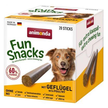 ANIMONDA Przysmak pałeczki Fun Snacks z Drobiem (20 sztuk)