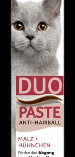 GIMCAT ANTIHAIRBALL DUO-PASTE CHICKEN + MALT 50g