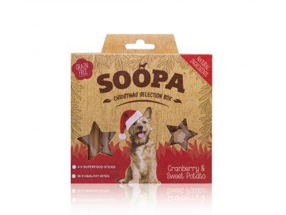 SOOPA Christmas Selection BOX Cranberry&Sweet Potato 150g