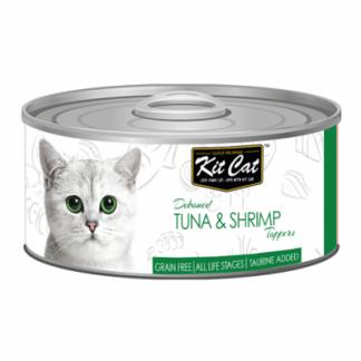 KIT CAT TUNA & SHRIMP (tuńczyk z krewetkami) [KC-2210] 80g