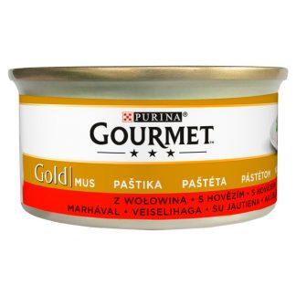 GOURMET GOLD - Mus z wołowiną 85g