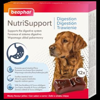 BEAPHAR NUTRISUPPORT TRAWIENIE 12 szt. - żelki wspomagające trawienie dla psów