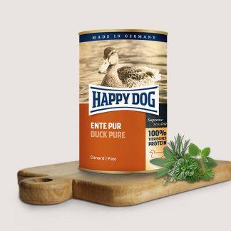 HAPPY DOG PUSZKA dla psa - KACZKA (Ente Pur) 400g