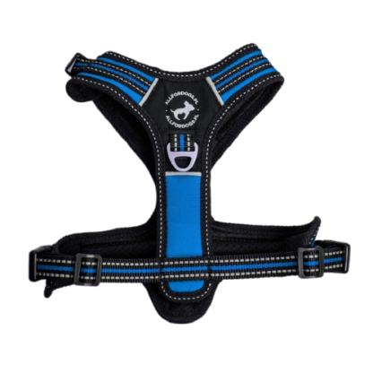 ALL FOR DOGS Szelki 3x-Sport Niebieskie XS