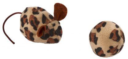 KERBL Zabawka mysz i piłka [81656]