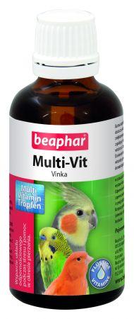 BEAPHAR MULTI-VIT VINKA 50ML - krople z witaminami dla ptaków