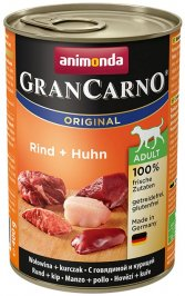 ANIMONDA GranCarno Orginal Adult puszki wołowina kurczak 400 g