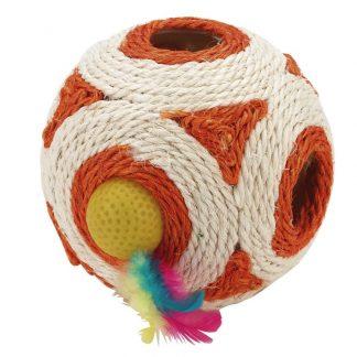 KERBL Zabawka piłka z sizalu