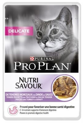 PURINA PRO PLAN DELICATE Indyk 85g