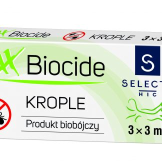 SELECTA Krople MaxBIOCIDE  20-60 kg 3x3ml
