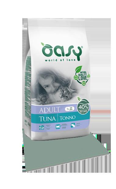 OASY DRY CAT Adult - Tuńczyk   300 g