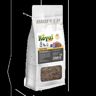 BIOFEED Royal Snack SuperFood - siemię lniane 250g
