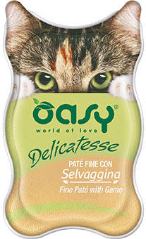 OASY DELICATESSE Paté - Dziczyzna 85 g