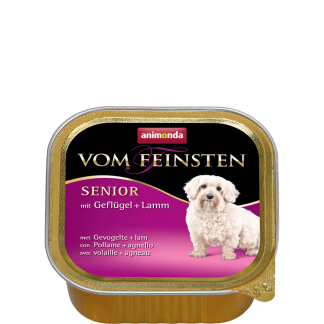 ANIMONDA Vom Feinsten Senior szalki z drobiem i jagnięciną 150 g