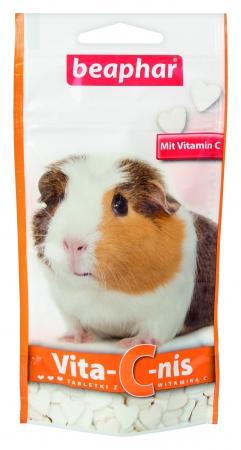 BEAPHAR VITA-C-NIS 50G - tabletki z witaminą C dla świnek morskich