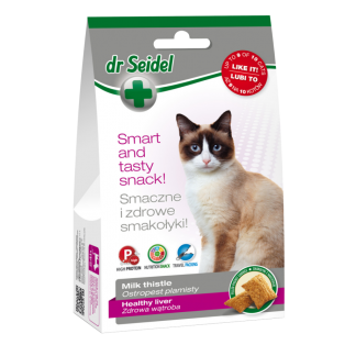 DR SEIDEL SMAKOŁYKI na zdrową wątrobę dla kotów 50g