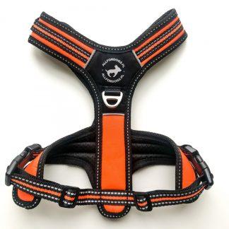 ALL FOR DOGS Szelki 3x-Sport Pomarańczowe XS