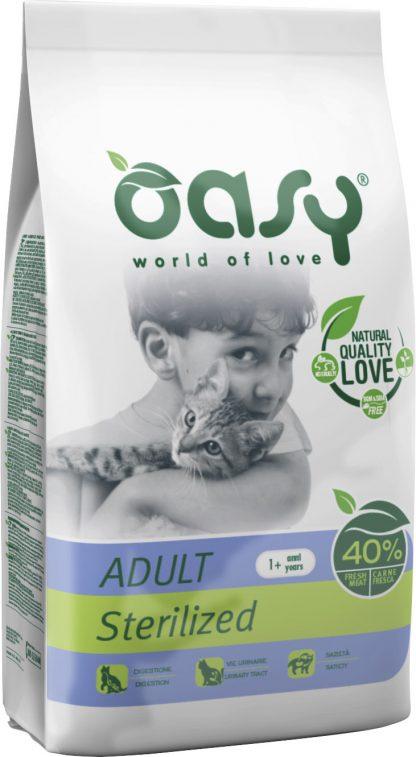 OASY DRY CAT Sterilized - Kurczak 1