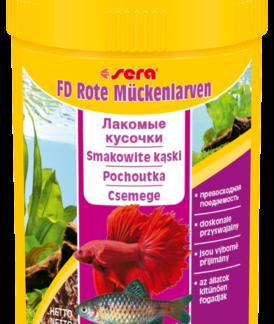 SERA Przysmak FD Bloodworms 100 ml [SE-01140] 100 ml